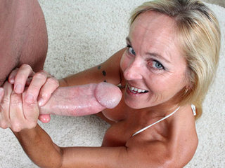 Step Mom Wants His Creamy Load