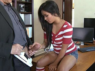 Lana screams as her tight pussy gets ripped